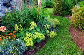 Small Picture Beautiful Garden Stock Photo Picture And Royalty Free Image