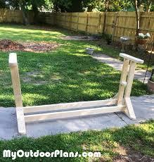diy swing stand
