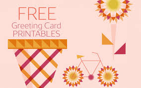 Free Greeting Card Printables Spread Some Sunshine With These Free Greeting Card