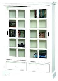 sliding door bookcase glass door bookcase plans attractive bookshelf with sliding doors sliding door bookcase sliding