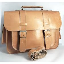 leather school bag a4 greek handmade