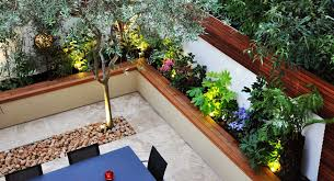 Small Picture Greek Style Garden Design Chelsea London Bamboo Landscaping