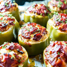 The best healthy meatloaf recipe. Easy Low Carb Keto Meatloaf Stuffed Peppers Living Chirpy