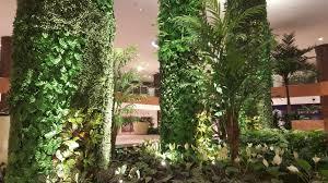 cubesystem green wall project robinsons galleria cebu artificial green wall
