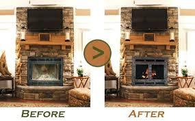 gas fireplace doors gas fireplace glass doors open or closed