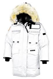 Canada Goose Resolute Parka White Women s On Sale