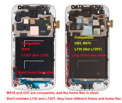 galaxy s4 screen size difference between samsung galaxy s4 i9500 i9505 i337 m919 l720 i545