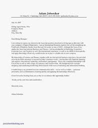 Cover Letter For Intership 10 Paralegal Internship Cover Letter Cover Letter