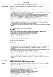 Product Software Engineer Resume Samples Velvet Jobs