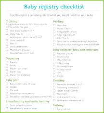 Target Baby Shower Registry Target Baby Shower Registry Checklist ...