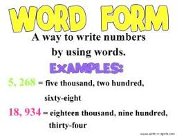 Forms For Word Math with Mrs D Decimal Number Forms 70