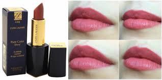Estee Lauder Lipstick Shade Chart Estee Lauder Pure Color Envy Sculpting Lipstick Irresistible