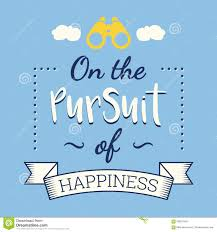 the pursuit of happiness stock vector image of mood  the pursuit of happiness