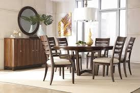 round dining room table for 6. Round Dining Room Tables For 6 Table Sets With Leaf 2018 And Awesome Simple Wooden Cabinet Placed Near Oak Chairs Under White Choose Images