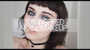 seventies fall makeup tutorial