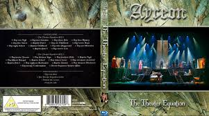 ayreon the theater equation 2016 front