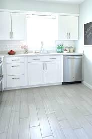 white kitchen floor style selections tile white kitchen with gray wood like porcelain floor tiles style white kitchen floor