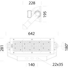 2186 led 1 module narrow beam xs