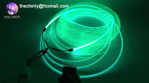 100meters 5 0mm side glow fiber optic cable for car light
