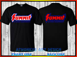 Summit Performance T Shirt Summit Racing Equipment T Shirt O Neck T Shirt Casual O Neck Print Tops T Shirts Men