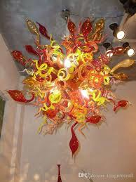 art glass lighting fixtures. Specification. 1.Major Products. Blown Glass Chandelier Art Lighting Fixtures