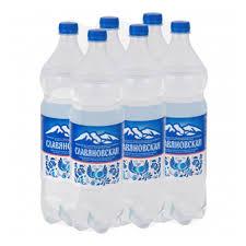 <b>Минеральная вода Славяновская 1</b>,0л ПЭТ (6 штук в упаковке ...