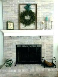 updated brick fireplace updated brick fireplaces updated brick fireplaces fireplace remodel ideas for any budget update