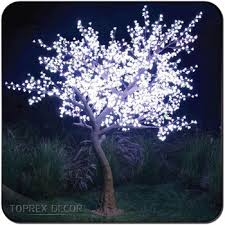 outdoor blossom tree led lights. party decorations pink color tree led lights illuminated cherry blossom outdoor christmas