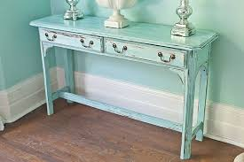 vintage sofa table. Distressed Vintage Sofa Table