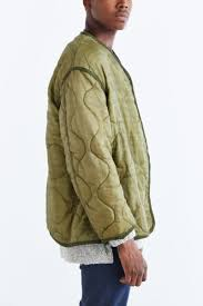 Lyst - Urban renewal Vintage Quilted Liner Jacket in Green for Men & Gallery Adamdwight.com