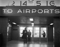 Insurance Vending Machine Airport Enchanting 48 Things We No Longer See At Airports Mental Floss