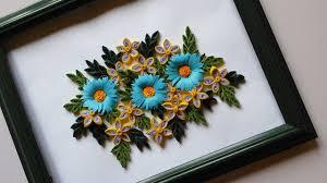 Paper Flower Frame Paper Quilling Designs Wall Frames Flowers Diy Handiworks 48