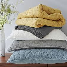 Braided Quilt + Shams - Slate | west elm & Roll Over Image to Zoom Adamdwight.com