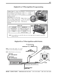 msd digital 6a wiring diagrams ford msd ignition wiring diagrams msd digital 6 plus and digital 7 plus ignition installation instructions part