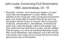 john locke and the declaration of independence john locke british  john locke concerning civil government 1693 second essay ch