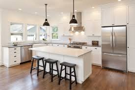 Types Of Kitchen Flooring Pros And Cons Kitchen Custom Kitchen Cabinet Doors Minimalist Glass Cabinet