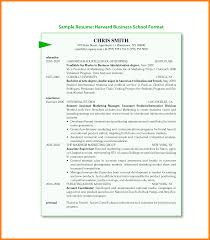 Harvard Business School Resume Format Pdf Resume For Your Job