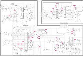lg flatron c17lc 17 inch crt monitor circuit diagram electro circuit diagram full