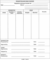 12 Requisition Form Templates Free Sample Templates