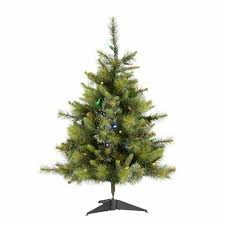 The Holiday Aisle Vickerman 3 Green Pine Trees Artificial