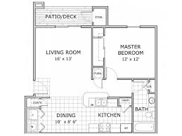 all our floor plans1 bedroom a ph 1
