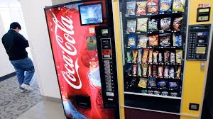 Drinks Vending Machines Extraordinary Would Calorie Counts On Vending Machines Stop You From Eating And