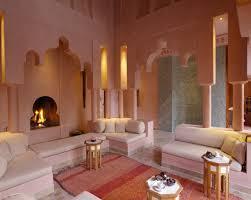 Moroccan Design Furniture Moroccan Interior With Pink Decor Also Futon Sofa And