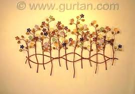 wall sculpture decor botanical metal art home with artwork canada m metal wall art
