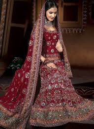 27 Traditional Indian Bridal Dresses Wedding Dress India