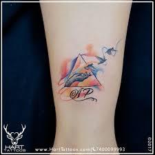 Watercolor Tattoo Tattoo Design For Girls Custom Tattoo Hart