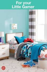take your kids bedroom to the next level with tech inspired graphics from pillowfort s