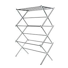 folding clothes rack. Modren Clothes Whitmor Deluxe Rack Collection 295 In X 4175 Chrome Drying With Folding Clothes F