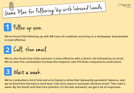 sales follow up sales flash your inbound leads are useless without a valuable