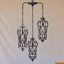 lights of tuscany 6173 3 mediterranean style wrought iron pendant chandelier pendant lighting hanging lantern ceiling fixtures fixtures